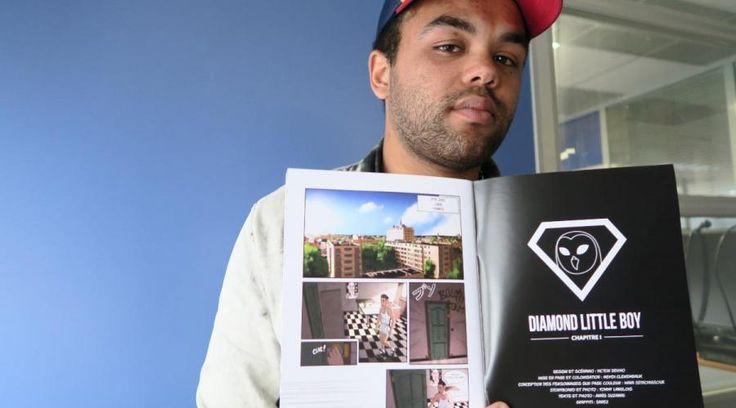 Ce Caennais de 22 ans est l'auteur de Diamond Little Boy, un manga 'semi-autobiographique' dont l'histoire se déroule à Caen. Il évoque l'échec scolaire et la