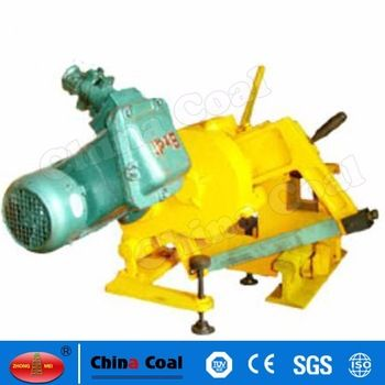 chinacoal03 KDJ Rail Track Electric Sawing Machine KDJ electric rail sawing machine is used in coal mines, ports, mining and other rail of 50 kg/m and below the sawing operation.Electric rail sawing machine is high efficiency, simple operation, reduce labor intensity of electric rail sawing machine, etc.