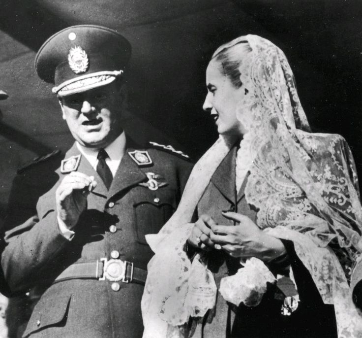 Eva Duarte Perón   Gyldendal - Den Store Danske
