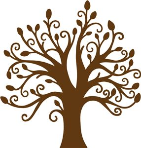 Silhouette Online Store - View Design #17607: trista tree