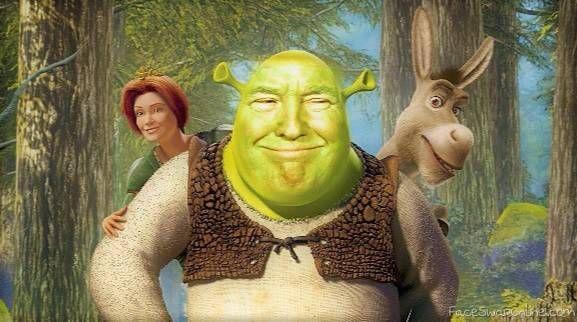 Donald Shrek 2