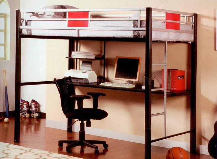 Best 25 Scandinavian Bunk Beds Ideas On Pinterest: Best 25+ Bed With Desk Underneath Ideas On Pinterest