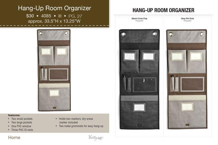 Hang Up Room Organizer Thirty One! Www.mythirtyone.com