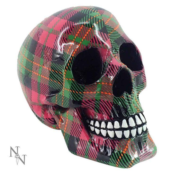 Nemesis Now Clan schedel beeld roze – Fantasy – Nemesis Now