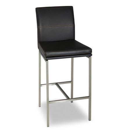 Phoenix Counter Stool With Stainless Steel Finished Metal Frame