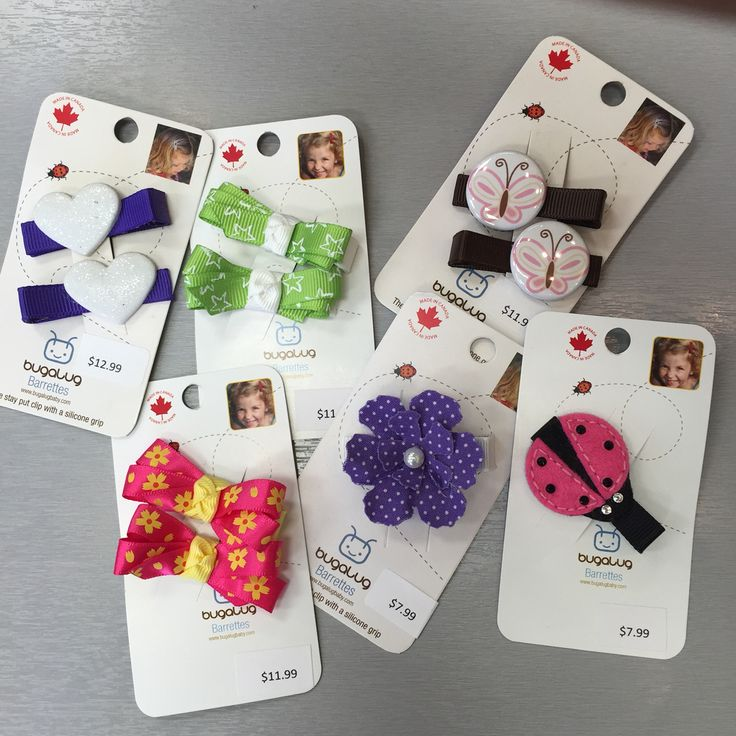Bugalug hair clips available at select Calgary locations