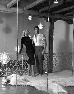 Jayne Mansfield And Mickey Hargitay In The Pink Palace