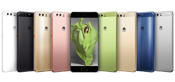 Huawei P10 e Huawei P10 PLUS con telaio in alluminio, Android 7.0 Nougat, interfaccia EMUI 5.0, connettività 4,5G e fotocamera con doppio sensore Leica.