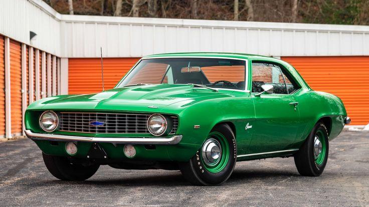 1969 Chevrolet COPO Camaro presented as Lot F117 at