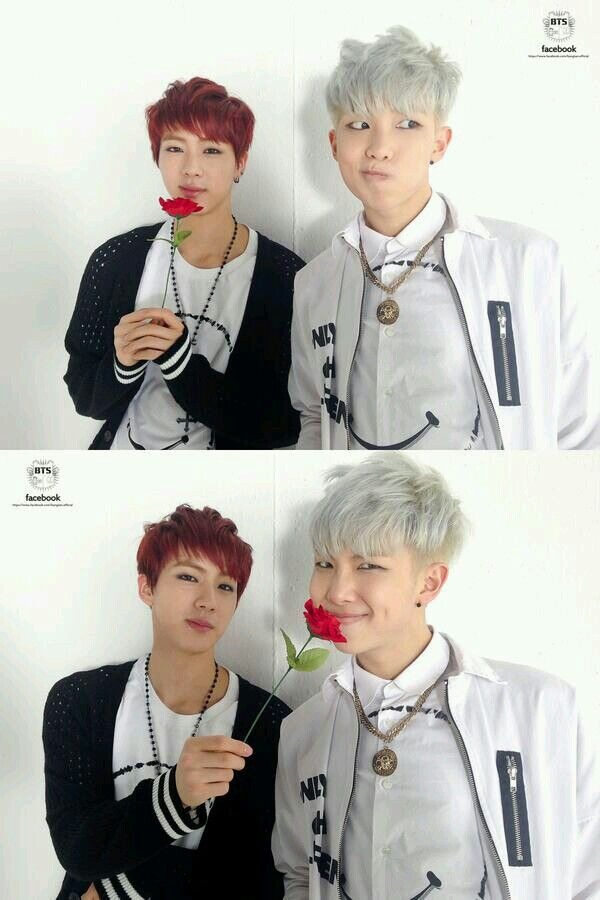Rap Monster and Jin