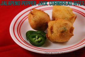 Jalapeno Pepper Jack Cornbread Bites | A perfect two-bite side dish ...