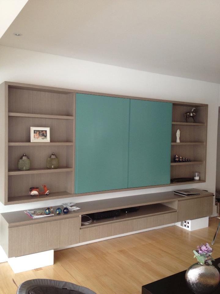 les 92 meilleures images du tableau cache tv sur pinterest cacher la t l vision armoire tv et. Black Bedroom Furniture Sets. Home Design Ideas