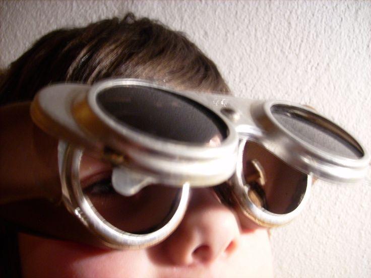 Steampunk - Schweißerbrille - Vintage von susduett auf DaWanda.com