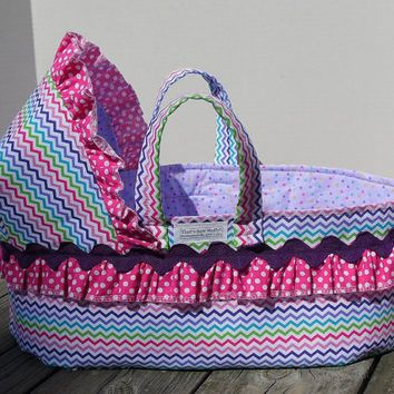 Crochet Moses Basket Large Free Pattern