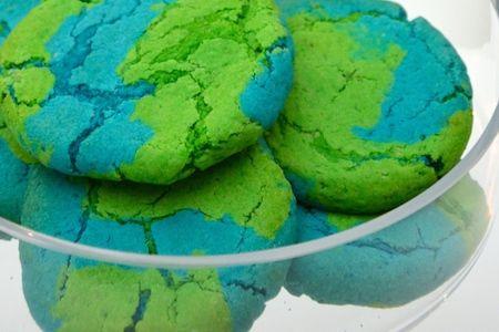"""Recette des gâteaux """"Terre"""" - Chasse au trésor Espace - Anniversaire Astronaute - Happy Kits"""