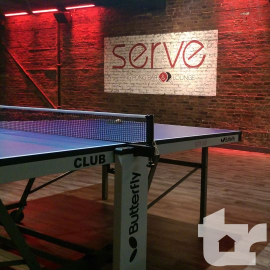 Serve Ping Pong Bar & Lounge is one of the best social experiences in…