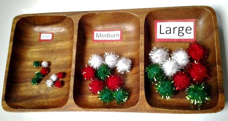 Montessori Christmas Activities - Racheous - Respectful Learning & Parenting