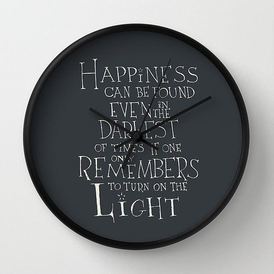 Harry Potter Food Wall Clock ($30)