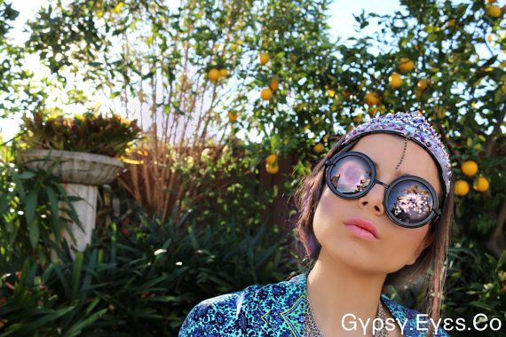 Mermaid Crown Purple Sparkle by GypsyEyess on Etsy