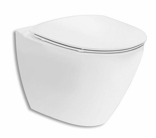Ifö Spira Art WC-stol vägghängd 6245, Rimfree®