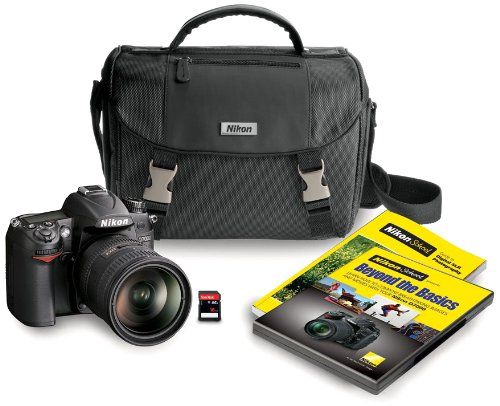 Nikon's D7000 has the features you need in a size you want including a high resolution 16.2 MP DX-format CMOS sensor for large prints and tight cropping, high speed 6 frames per second continuous shooting up to 100 shots, breathtaking Full 1080p HD Movies of up to 20 minutes with full time autofocus and a low-noise ISO range of 100-6400, expandable to 25,600 (Hi 2) lets you shoot in near darkness or slow down the action. The 39 Point autofocus features nine cross-type sensors which can be…