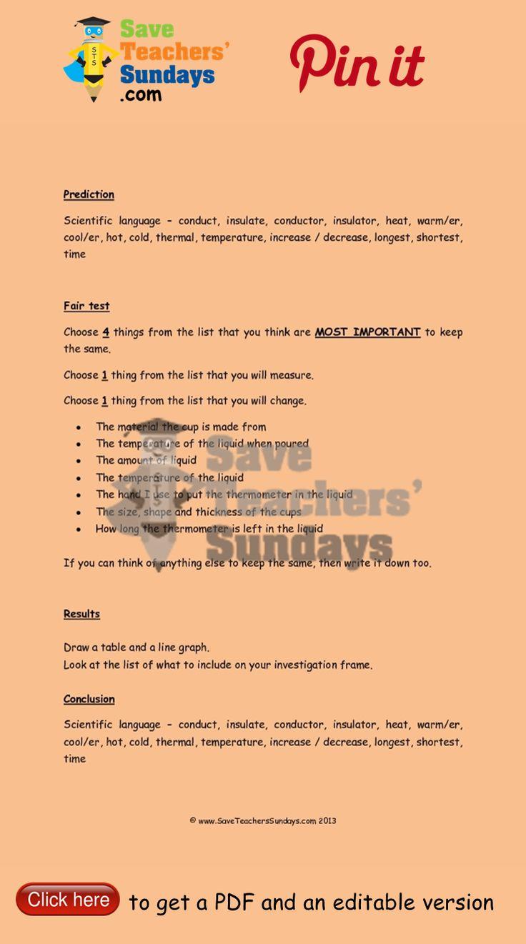 Investigation on Conductors and Insulators 2 prompts. Go to http://www.saveteacherssundays.com/science/year-5/510/lessons-3-to-6-conductors-and-insulators-investigations/ to download this Investigation on Conductors and Insulators 2 prompts. #SaveTeachersSundaysUK