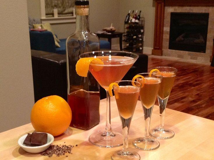 Halloween Infusion part 2: Chocolate-Orange Liqueur
