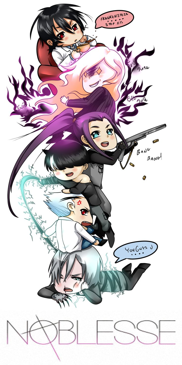 NOBLESSE CHIBI TOWER by tariah23.deviantart.com on @deviantART