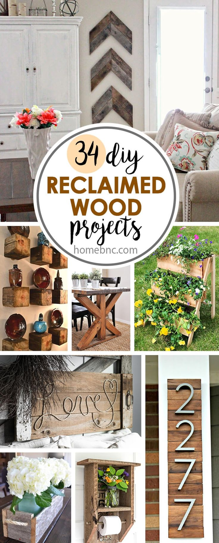 Here are some projects for you that will have you second-guessing whether or not you should throw that old wooden crate away, or if you should pick up that wooden pallet off the side of the road that someone has carelessly ditched. Old wooden frames, antiquated barn boards, or really any scrap...