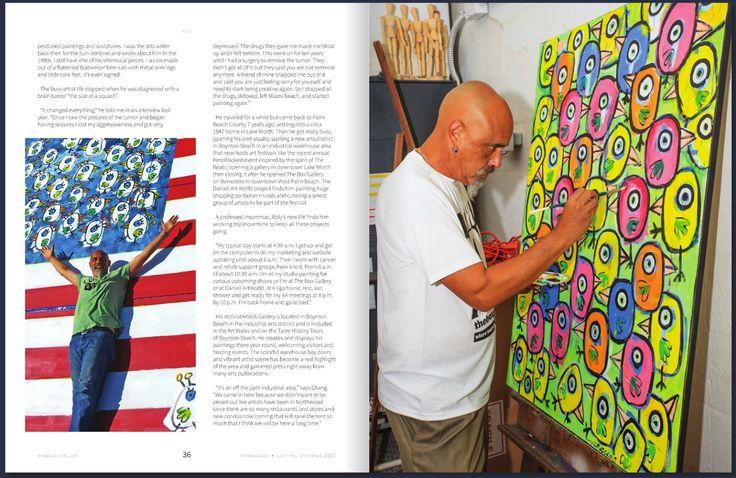 West Palm Beach Magazine   Roly Chang Barrero Palm Beach Arts Renaissance Man   by Sandra Shulman     Read Story                  Relat...
