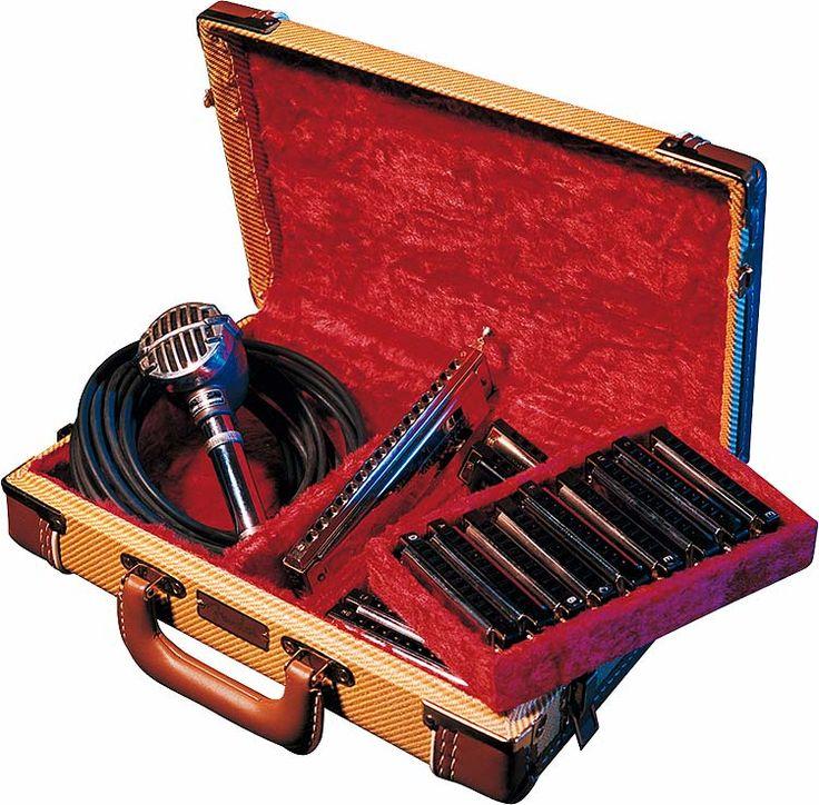 fender harmonica case