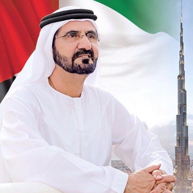 El jeque Mohammed bin Rashid bin Saeed Al Maktoum. Vía: mohd_sultan_markhan