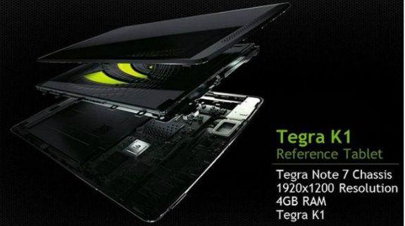 NVIDIA potenzia il Tegra Note 7 e lancia il Tegra K1 reference tablet col nuovo processore