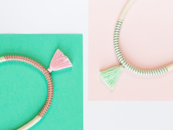 #deuxsoray #ds #necklace #ropenecklace #striped #metallic #pink#green #design #photo #photography #rope#ropenecklace #jewelry #accessories #handmade #etsy #seller #tasselnecklace #colorful #necklaces #sisters #two #bewhoyouare