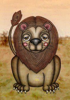 Иллюстрация, Рисование, Животное