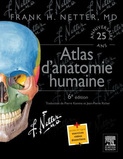 Planches d'anatomie Netter
