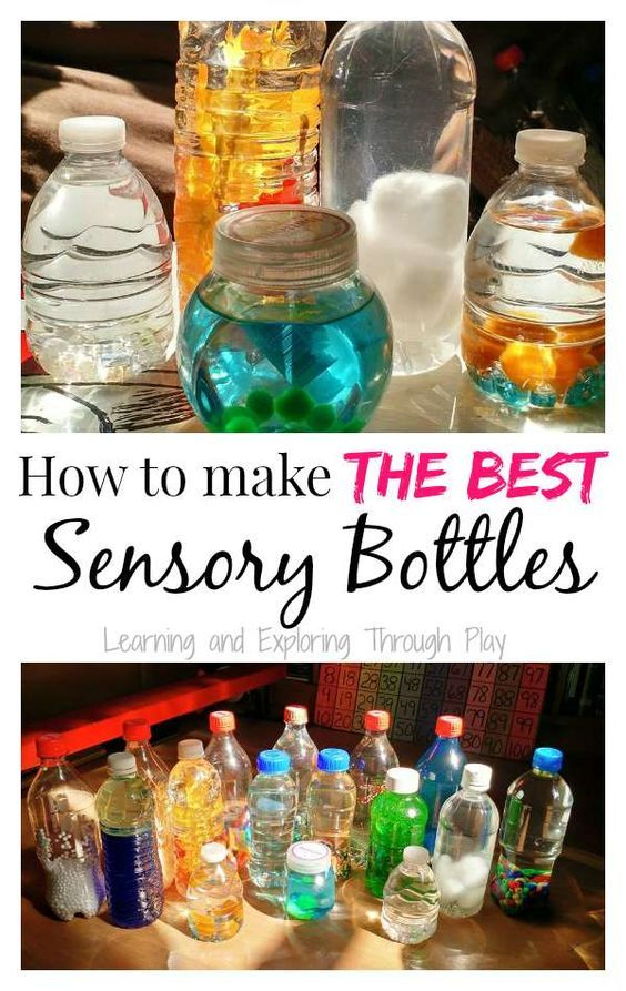 Learning and Exploring Through Play: DIY Sensory Bottles
