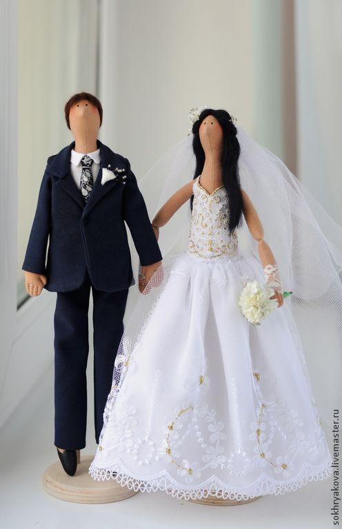 Купить Свадебная пара в стиле Тильда. - тильда, кукла, кукла Тильда, свадьба, свадебная пара