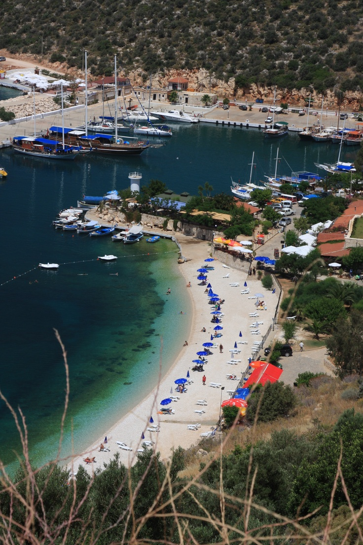Kalkan, Turkey - Explore the World with Travel Nerd Nici, one Country at a Time. http://TravelNerdNici.com