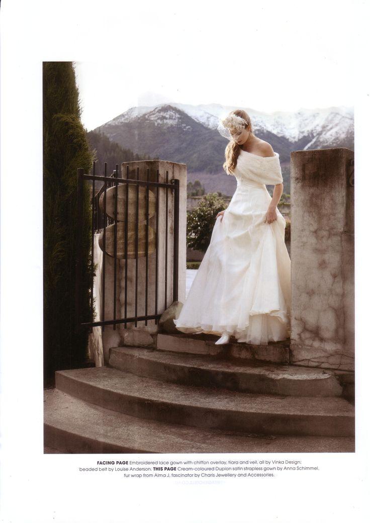 Pretty. Image by @New Zealand Weddings Magazine