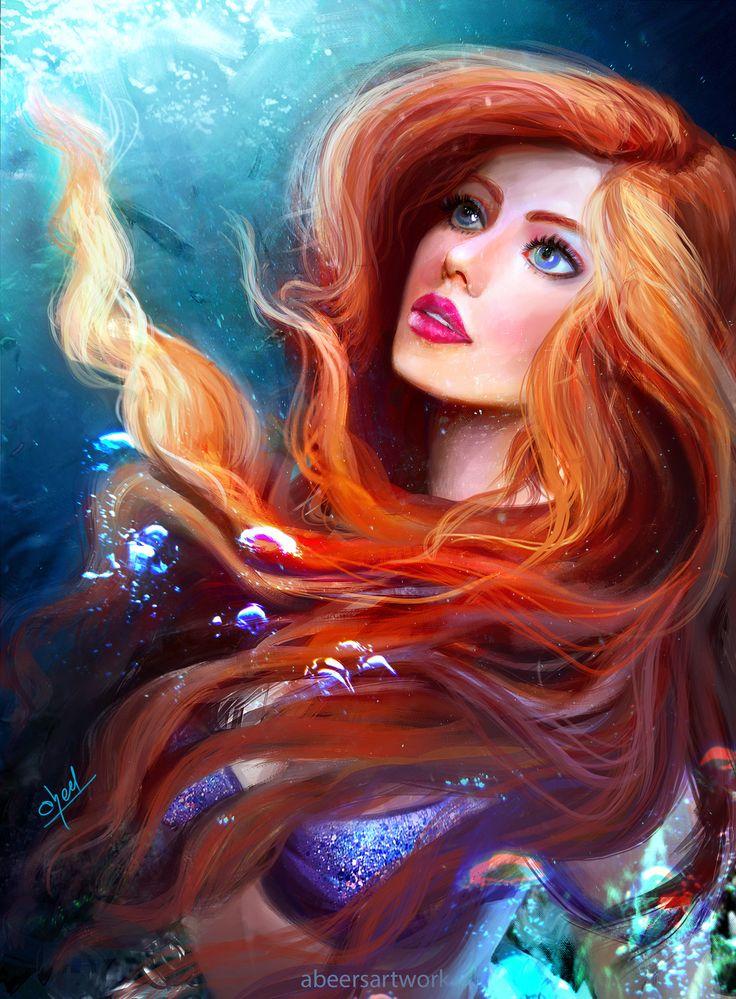 Ariel , abeer malik on ArtStation at https://www.artstation.com/artwork/N2nD1…
