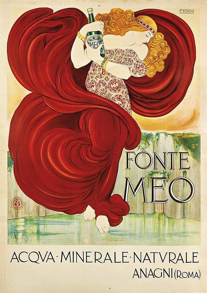 Fonte Meo - Acqua minerale naturale - 1924 - (Francesco Nonni) -