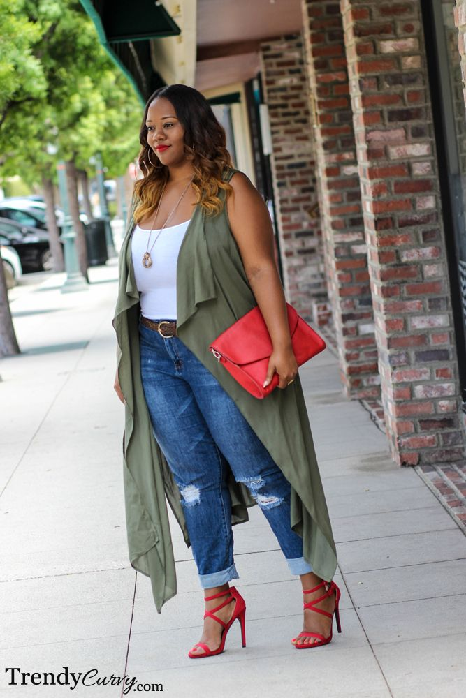 Plus Size Outfit - Trendy Curvy