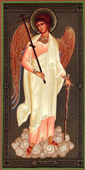Orthodox icon: Holy Guardian Angel