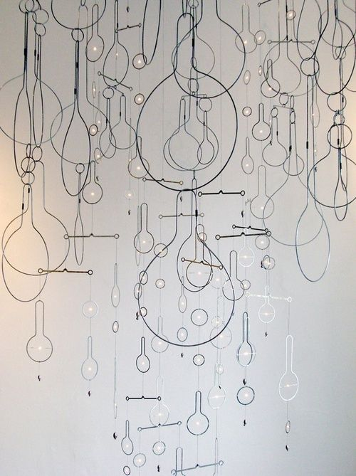 vjeranski:  Wire Sculptures by Rodger Stevens