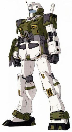 RGM-79F Land Combat Type GM - Federazione Terrestre (Missing Mobile Suit Variations di Kunio Okawara.)