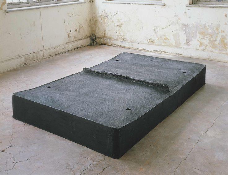 Rachel Whiteread, Untitled (Black Bed), 1991