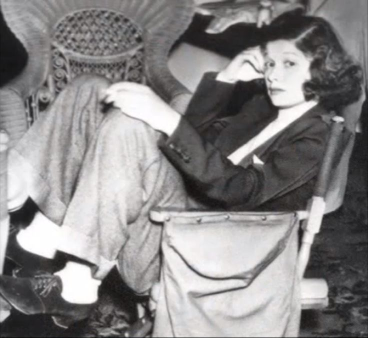 Young Lucille Ball in casual pants