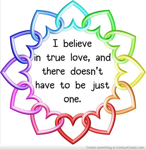 Undecided Love Quotes: 70 Best Images About Polyamory On Pinterest