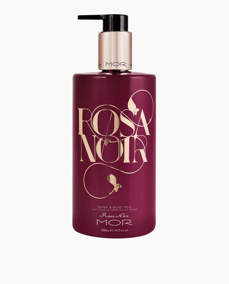 Rosa Noir Hand & Body Milk - Cloak and captivate your skin with the hypnotic floral scent of Rosa Noir. This silky Hand & Body Milk contains a luxe blend of Shea Butter and Macadamia Oil that deeply nourishes. With added Extracts of Wild Rose, Hibiscus and Fig it revitalises and hydrates the skin, leaving it perfectly soft and with a lingering scent. A perfect partner to the Rosa Noir Hand & Body Wash.